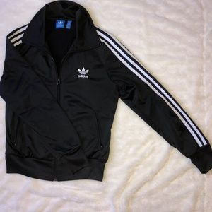 Like New- Adidas Collar Track Jacket (Size: S)